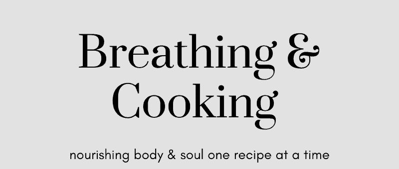 Breathing And Cooking